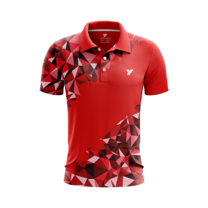 Polo-shirt MP059 rood