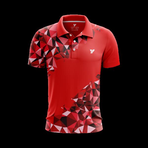 Polo-shirt MP059 rood