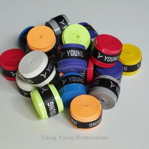 Young overgrips alle kleuren